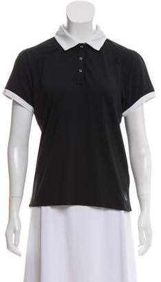 Aquascutum London Short Sleeve Polo Top