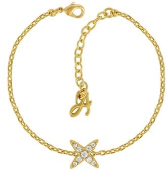 Adore Crystal 4-Point Star Bracelet