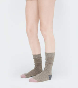 UGG Color-Blocked Boot Sock