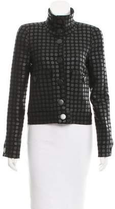 Bottega Veneta Polka Dot Embroidered Jacket