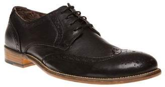 Sole New Mens Black Hester Leather Shoes Brogue Lace Up