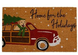 """Elrene Home Fashions Home for the Holidays Coir Mat - 18"""" x 30"""" - Natural"""