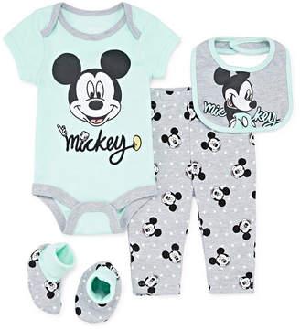 DISNEY MICKEY MOUSE Disney 4-pc. Baby Clothing Set-Baby Boys