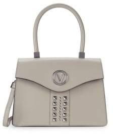 Melanie Leather Top Handle Bag