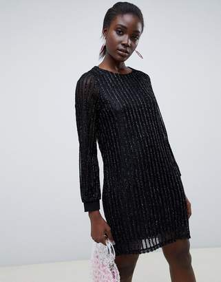 Vero Moda Glitter Stripe Dress