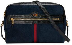 Gucci Ophidia Medium Suede Camera Crossbody Bag