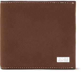 HUGO BOSS Crosstown Full-Grain Leather Billfold Wallet