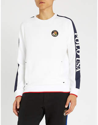 Polo Ralph Lauren Crest cotton-jersey jumper