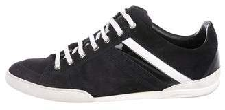 Christian Dior Suede Low-Top Sneakers