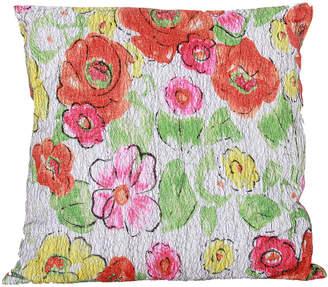 A&B Home Floral Pillow