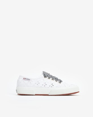 Express Superga Eyelet Lace Sneakers