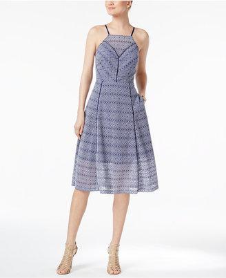 Rachel Rachel Roy Illusion Lace Apron Dress $159 thestylecure.com