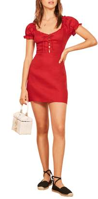 Reformation Klara Linen Dress