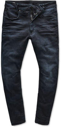 G Star Men's D-Staq 3D Slim-Fit Stretch Dark Aged Jeans, Created for Macy's