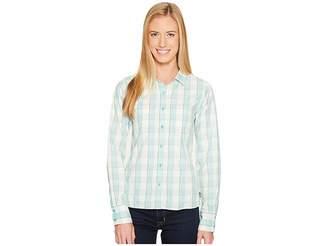 The North Face Long Sleeve Sunblocker Shirt Women's Long Sleeve Button Up