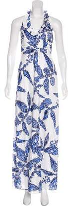 Lilly Pulitzer Shell Print Halter Dress