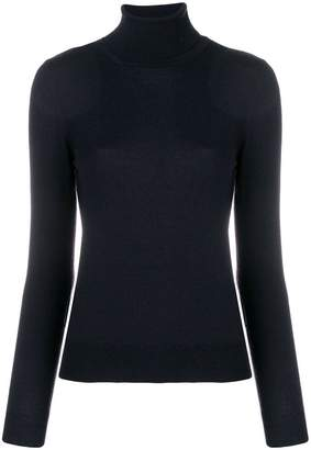 Cruciani turtleneck fitted sweater