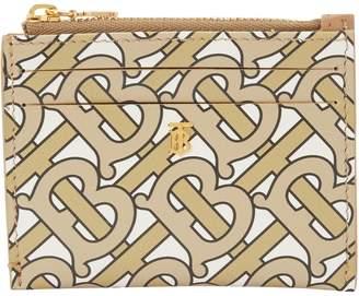 Burberry Simone grained calfskin wallet