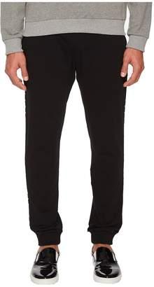 Versace Sweatpants with Metal Accents Men's Casual Pants