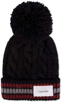 Calvin Klein Men Pom Pom Cuffed Hat