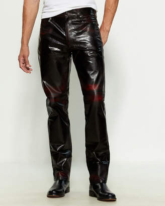 Martine Rose Leather Jeans
