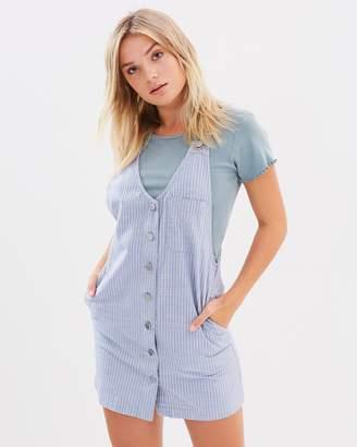 Volcom Chambray Stripe Dress