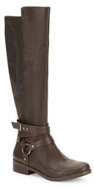 Kai Knee-High Leather Boots $169.99 thestylecure.com