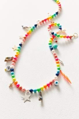 Venessa Arizaga Rainbow Planet Necklace