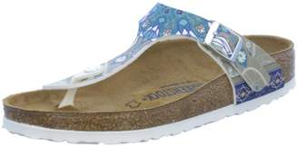 Birkenstock Women's Gizeh Cork Footbed Thong Sandal 38 M EU
