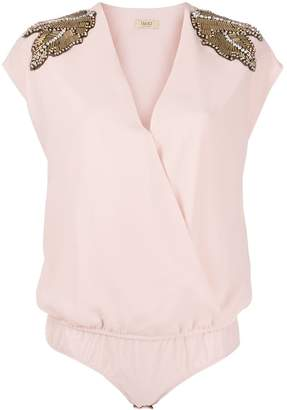 Liu Jo embellished shoulder body