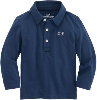 Vineyard Vines Baby Boys Long-Sleeve Edgartown Polo (12-24 MO)
