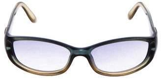 Gucci Gradient Narrow Sunglasses
