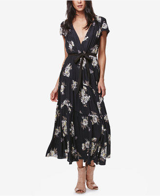 Free People All I Got Printed Maxi Dress $168 thestylecure.com