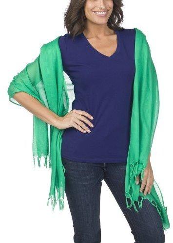 Merona Hand Knot Lightweight Wrap - Green