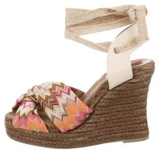 Missoni Knit Patterned Espadrilles multicolor Knit Patterned Espadrilles