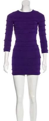 Christian Dior Long Sleeve Mini Dress