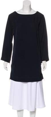 Marc by Marc Jacobs Long Sleeve Bateau Neck Tunic
