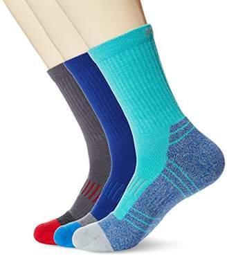 Orient Befit Kold Feet Men's 3-Pack Athletic Crew Socks Cushion Performance Seamless Toe for Golf