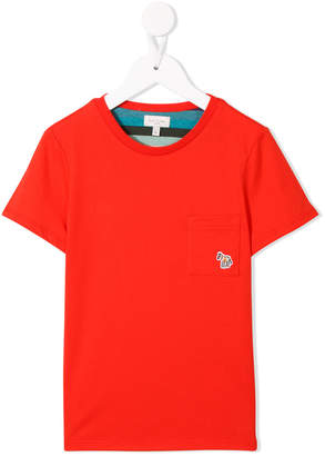 Paul Smith Zebra patch T-shirt