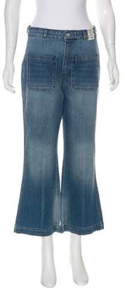 Amo High-Rise Flared Jeans w/ Tags
