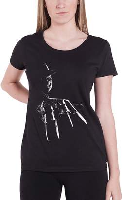 Freddy Nightmare On Elm Street T Shirt Krueger new Official Womens Skinny Fit