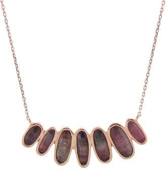 Celine Daoust Seven Tourmaline Pendant Necklace