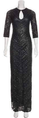 Farah Khan Embellished Evening Gown