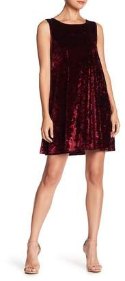BB Dakota Meyer Velvet Shift Dress