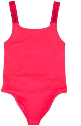 Calvin Klein Kids logo swimsuit