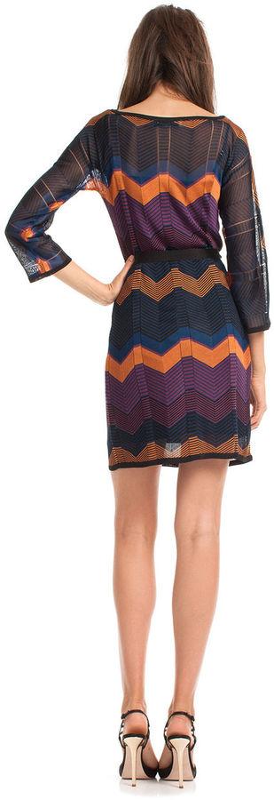 Trina Turk Albo Zigzag Dress