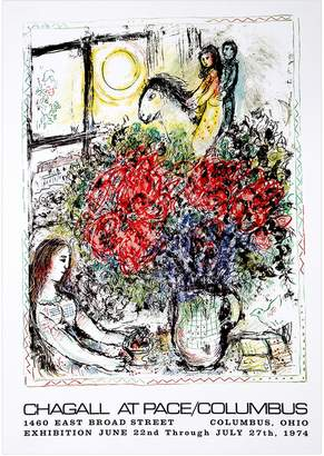RoGallery Chagall at Pace Columbus by Marc Chagall (Offset Lithograph)