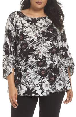 Sejour Smocked Sleeve Top