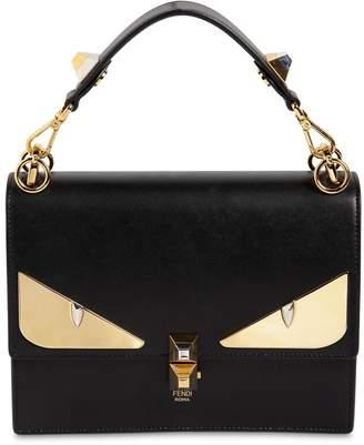 Fendi Medium Kan I Monster Leather Bag
