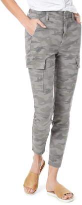 Joe's Jeans Charlie Camo High Waist Ankle Skinny Cargo Pants